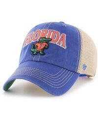 buy online d88ec f2564 47 Brand Florida Marlins Core Clean Up Cap in Blue for Men - Lyst