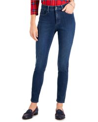 Charter Club Windham High-rise Skinny Jeans, Created For Macy's - Blue