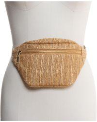INC International Concepts I.n.c. Straw Belt Bag, Created For Macy's - Multicolour