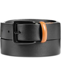 Original Penguin - Men's Leather Color-tab Belt - Lyst