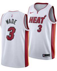 reputable site 58451 c66bc adidas Originals Synthetic Men's Miami Heat Dwyane Wade ...