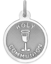 Rembrandt Charms - Sterling Silver Holy Communion Charm - Lyst