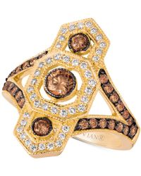 Le Vian - Chocolate Decotm Diamond Ring (1 Ct. T.w.) In 14k Gold - Lyst