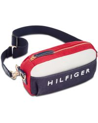 Tommy Hilfiger - Sporty Canvas Convertible Fanny Pack - Lyst