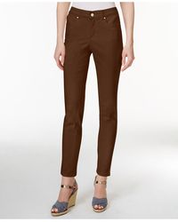 Charter Club Bristol Skinny Ankle Jeans, Created For Macy's - Brown