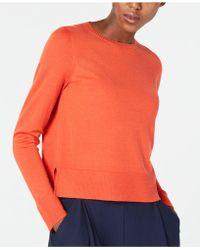 Eileen Fisher - Merino Wool Jumper, Regular & Petite - Lyst