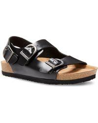 Eastland Charlestown Double Strap Sandals - Black