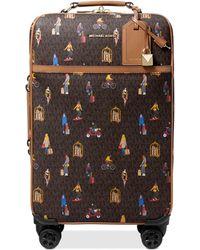 Michael Kors Michael Bedford Travel Spinner Luggage - Brown