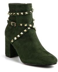 Catherine Malandrino Royalie Bootie - Green