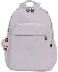 Kipling Seoul Go Large Backpack - Grey