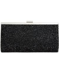 INC International Concepts Inc Lexy Minaudiere Clutch, Created For Macy's - Black