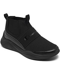 Champion Legacy A Slip-on High Top Casual Sneakers From Finish Line - Black