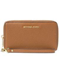 Michael Kors - Mercer Large Flat Multi Function Phone Case - Lyst