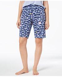 Hue - ® Plus Size House-print Bermuda Pyjama Shorts - Lyst