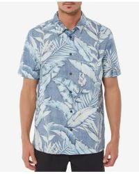O'neill Sportswear - Ocean Grove Printed Shirt - Lyst