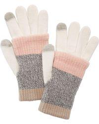 Steve Madden - Multi-stripe Touchscreen Gloves - Lyst