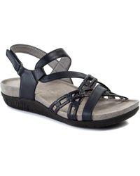 BareTraps Jewel Sling Back Sandals - Blue