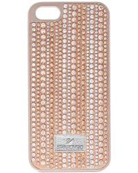 Swarovski - Rose Gold-tone Crystal Iphone 6 Case - Lyst
