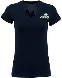 MYU Apparel - Women's Short-sleeve Florida Gulf Coast Eagles V-neck T-shirt - Lyst