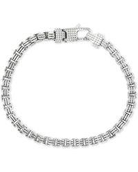 Effy Box Link Chain Bracelet In Sterling Silver - Metallic