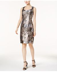 Kasper | Floral-print Sheath Dress, Regular & Petite | Lyst