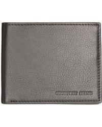 Geoffrey Beene Hamilton Multi Card Passcase In Black