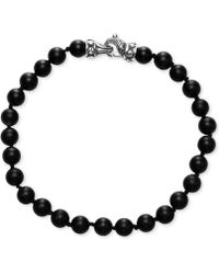 Scott Kay - Men's Onyx (6mm) Bracelet - Lyst