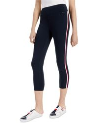 Tommy Hilfiger Striped Pull-on Pants - Blue