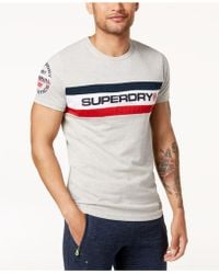 Superdry - Trophy Logo Chest Band T-shirt - Lyst