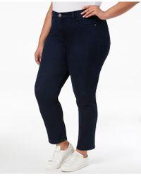 Style & Co. - Plus Size Jeans, Tummy Control Slim-leg - Lyst