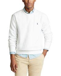 Polo Ralph Lauren - Long Sleeve Fleece Sweatshirt - Lyst
