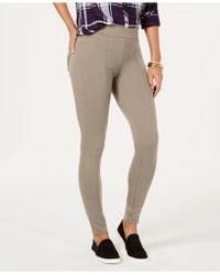Style & Co. - Petite Seam-front Ponte-knit Leggings, Created For Macy's - Lyst