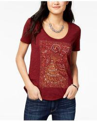 Lucky Brand - Cotton Graphic T-shirt - Lyst