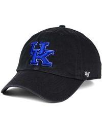 47 Brand - Kentucky Wildcats Clean-up Cap - Lyst