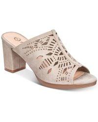 Bella Vita - Lark Slide Sandals - Lyst