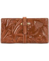 Patricia Nash - Florence Tooled Nevola Checkbook Case - Lyst