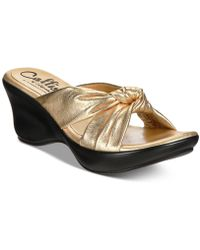 Callisto - Knoxx Wedge Sandals, A Macy's Exclusive Style - Lyst