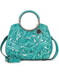 Patricia Nash Aria Leather Shopper - Multicolor