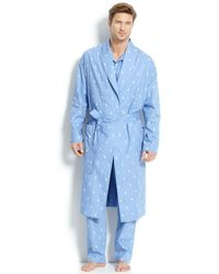 Polo Ralph Lauren - All Over Pony Player Robe - Lyst