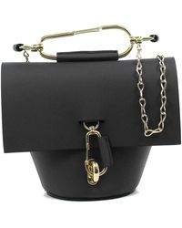 Zac Posen Belay Chain Crossbody - Black