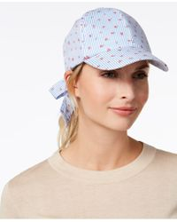 INC International Concepts - I.n.c. Striped Ditsy Floral Baseball Cap, Created For Macy's - Lyst