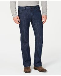 INC International Concepts Modern Bootcut Jeans, Created For Macy's - Blue