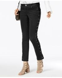 INC International Concepts - Curvy-fit Lace-up Skinny Jeans, Created For Macy's - Lyst