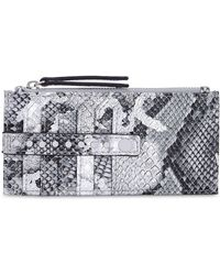 INC International Concepts - I.n.c. Glam Metallic Python-embossed Card Case, Created For Macy's - Lyst
