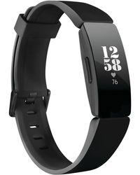 Fitbit - Inspire Hr Black Strap Activity Tracker 16.4mm - Lyst