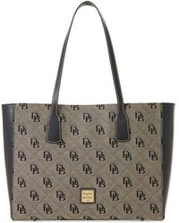 Dooney & Bourke Signature Ashton Tote - Black
