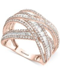 Effy Collection - Diamond Multi-band Weave-style Ring (2 Ct. T.w.) - Lyst