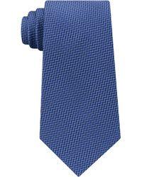 Michael Kors   Men's Satin Chevron-stripe Silk Tie   Lyst