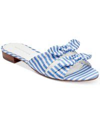 Marc Fisher - Laken Knotted Slide Sandals - Lyst
