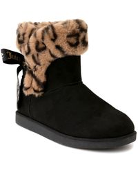 Juicy Couture King Winter Boots - Black